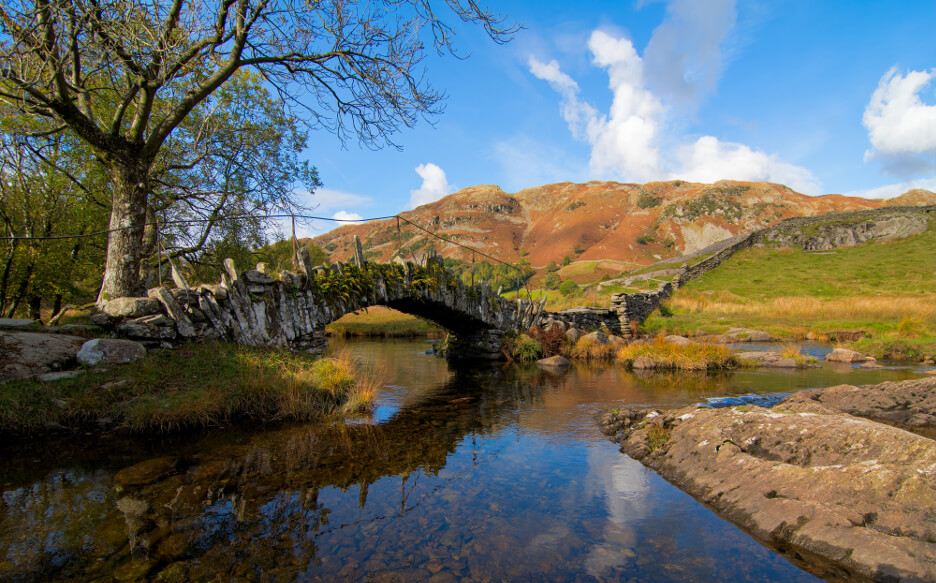 October Half Term in the Lake District Slaters Bridge Little Langdale