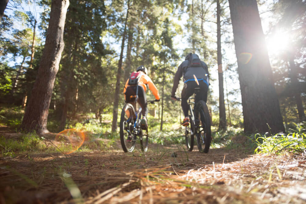 Lake District Day Out Guides Biking couple