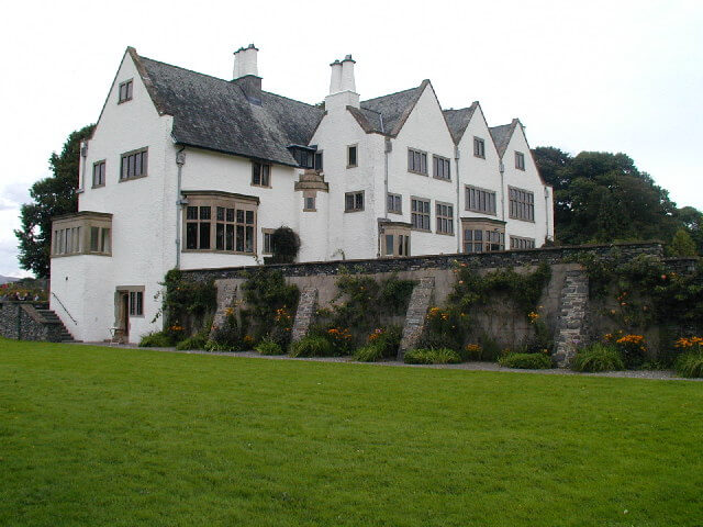 Exterior of Blackwell Arts and Crafts House Bowness-on-Windermere