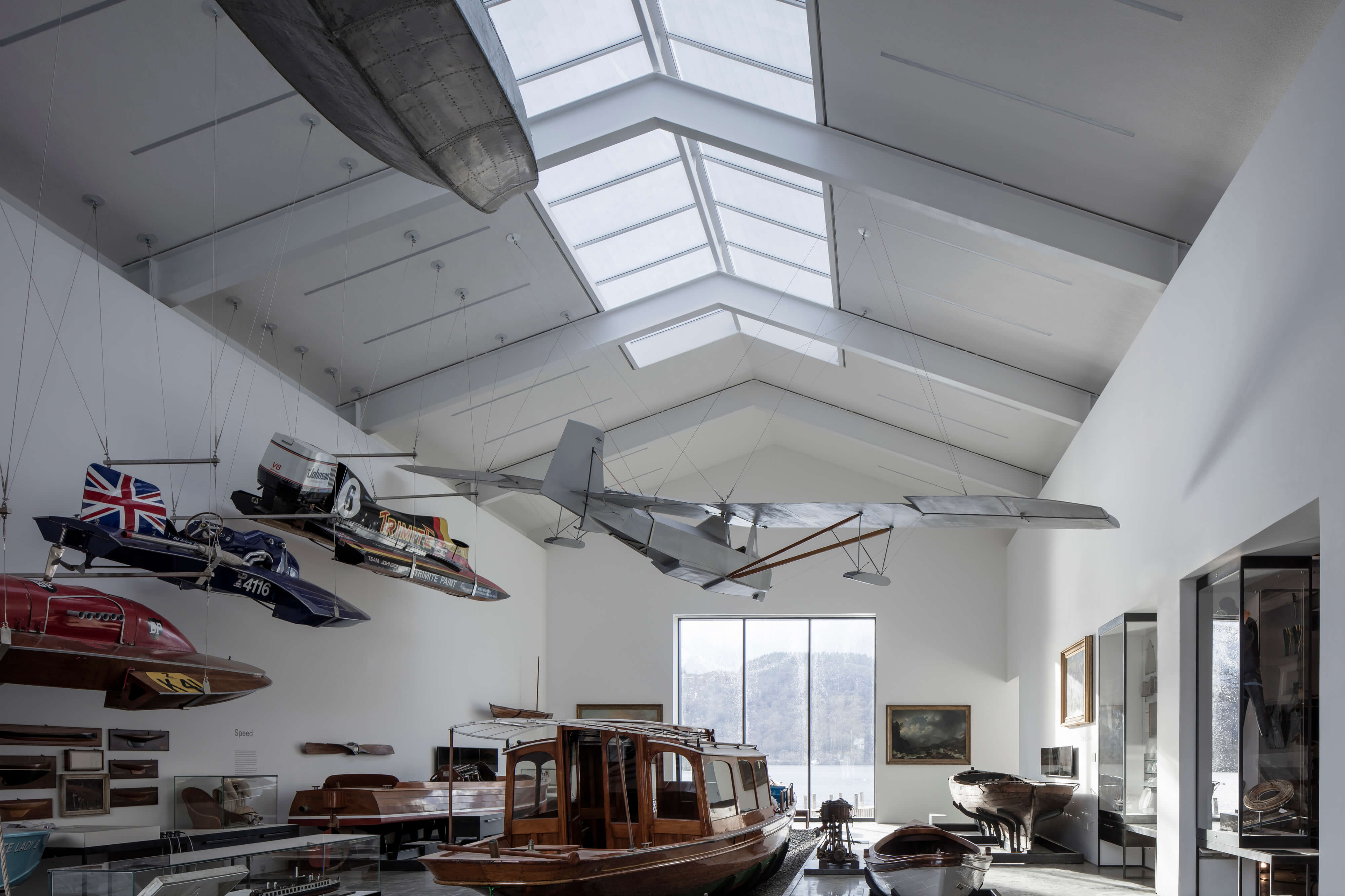 Windermere Jetty Architecture