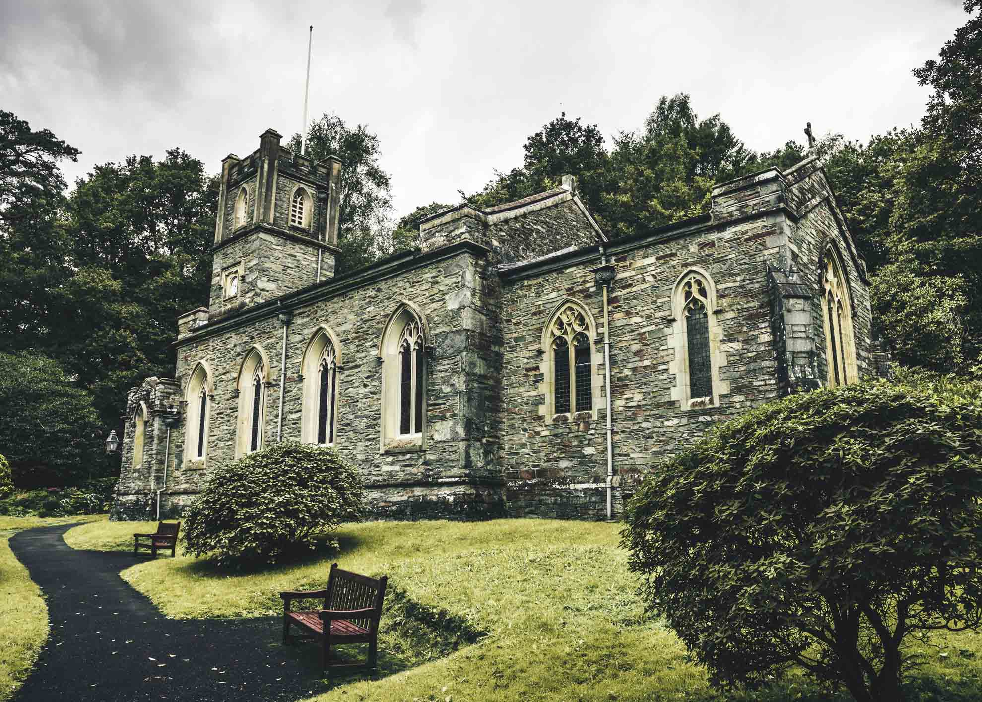 St Mary's Church in Rydal