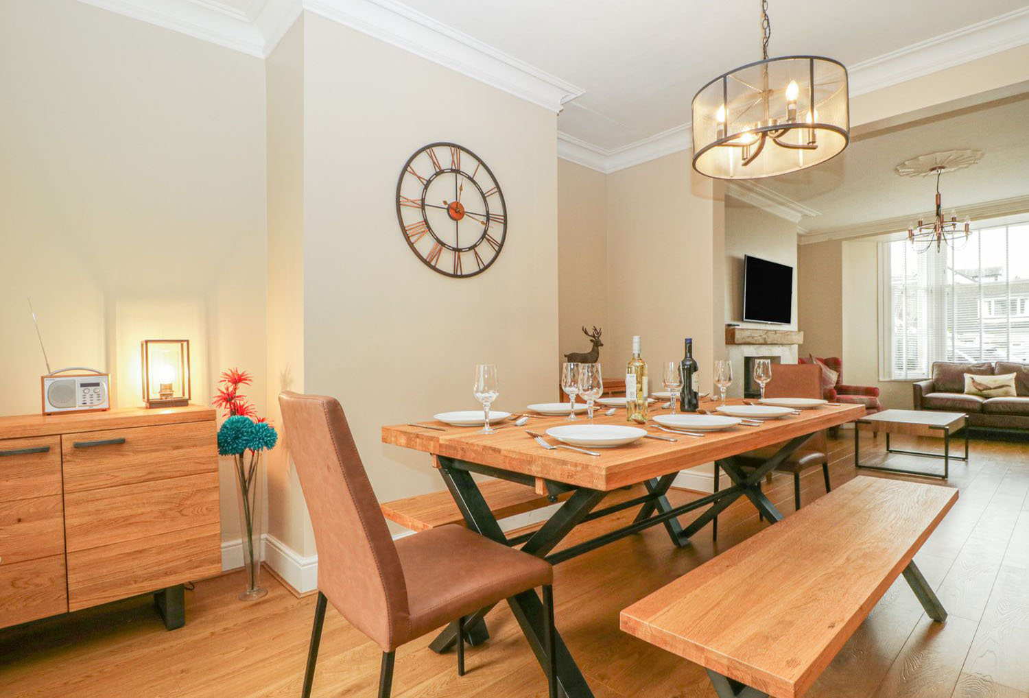 Dining room in a Luxury Holiday Home