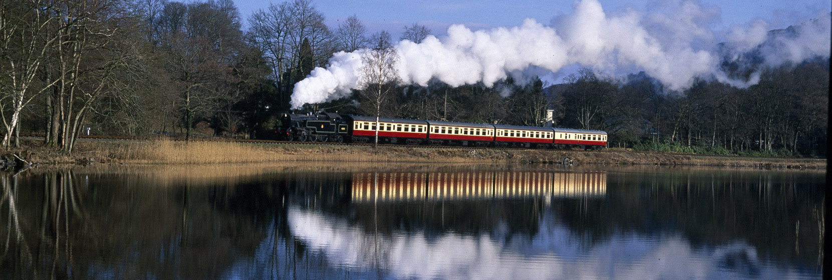 Lakeside Haverthwaite railway